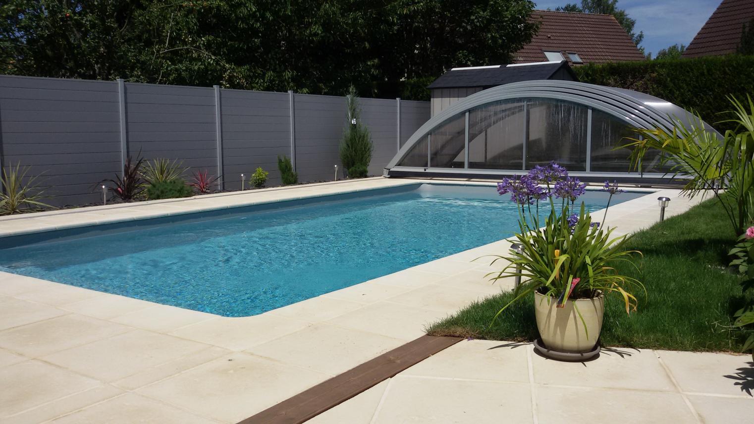 Aqua jardin tout pour l 39 eau construit r nove piscine for Liner piscine turquoise
